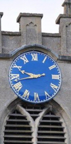 Benson Church Clock