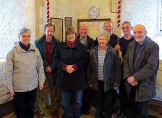 Qtr of Grandsire triples ringers at great milton