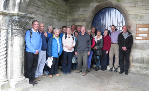 South Oxon Bellringers Outing Swanage Railway 2017
