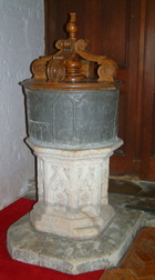 St Laurence Warborough Font