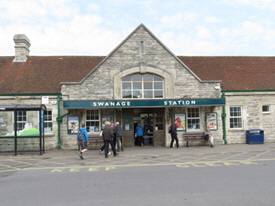 The Swanage Railway Station