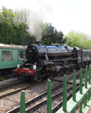 Train from Alton to Alresford – The Watercress Line